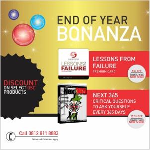 Bonanza valid while stocks last!
