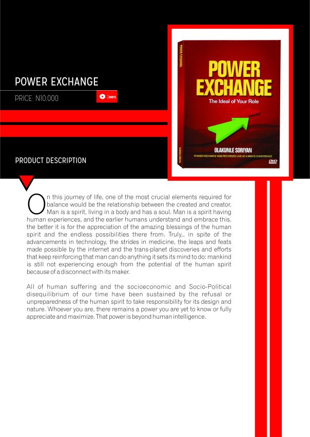 Power exchage catalogue
